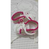 Zapato Tipo Bota Tenis Tejido A Crochet Varios Modelos Color