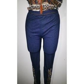 Leggins Jeans Diseño En Las Botas Oferta Leggis