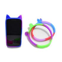 7 Bumper Universal Silicon Multicolor Figuras Celular /a