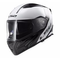 Casco Ls2 Ff324 Rebatible Alta Gama Doble Visor Moto Delta