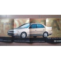 Folleto Original Toyota Corona Corolla Hilux Publicidad