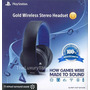 Headset Gold 7.1 Sony Wireless Ps3 Ps4 Original Imp Eua!