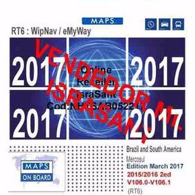 Atualização 2017 Gps + Mapas Peugeot 308 408 3008 Rcz Thp