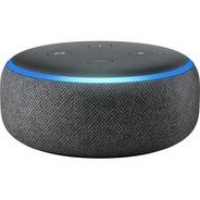 Echo Dot Amazon 3 Alexa Novo Lacrado Em Português