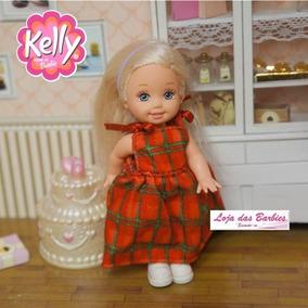 Roupa Para Boneca Kelly ( Irmã Da Barbie ) * Vestido 06