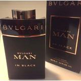 Perfume Locion Bvlgari Man In Black 100 Ml Hombre Original