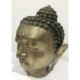 Buda Escultura Antigua De Bronce Baño Plata Buda Siddartha