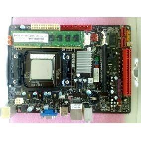 Tarjeta Madre Biostar Am3 N68s3b Ver 6.con Procesador Y Ram