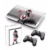 Skin Ps3 Super Slim Assassins Creed (0197) Consola + 2 Ctrls