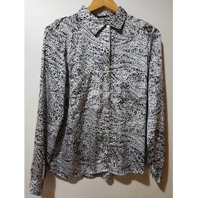 Camisa De Seda Estampada Portsaid