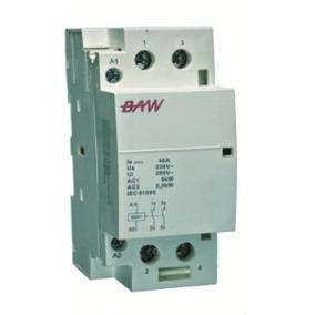 Contactor Modular 40amp 2p 2 Módulos Baw Cm40-20m