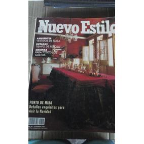 Revista Espanhola Nuevo Estilo N 201 Diciembre 1994