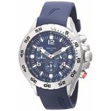Reloj Nautica De Acero Inoxidable Azul N14555g