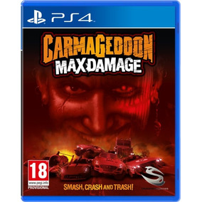 Carmageddon Max Damage Ps4 Lacrado