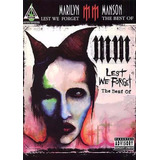 Libro: Lest We Forget The Best Of - Marilyn Manson