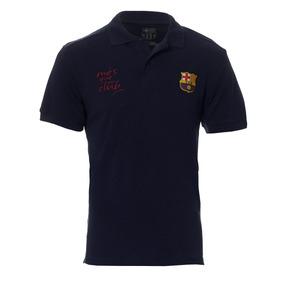 Camisa Polo Barcelona Licenciada Meltex 1405 Marinho