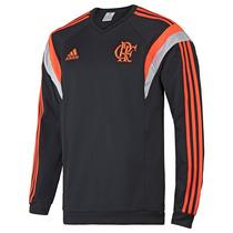 Blusa Adidas Moletom Performance Flamengo Treino 1magnus