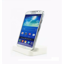 Micro Usb Dock Stand Cargador Galaxy, Lg, Ntc,etc - Blanco