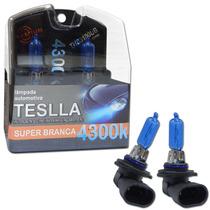 Kit Lâmpadas Super Brancas Teslla Hb3 4300k 12v 100w