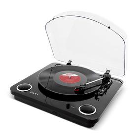Toca-discos Vinil Ion Com Conversão Digital Maxlp Black
