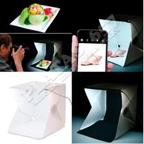 Mini Cubo Caja De Iluminacion Fotográfica Luz Led Integrada