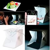 Mini Cubo Caja De Luz Fotográfica 20 Leds Integrados