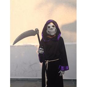 Disfraz Calavera Monje Halloween Envío Gratis