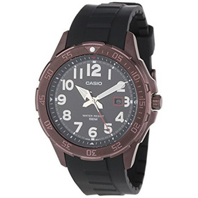 Reloj Análogo De Los Hombres De Brown Casio Mtd1073-1a2v I