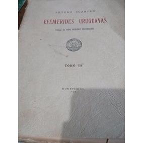Efemerides Uruguayas Arturo Scarone Año 1956 Montevideo