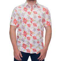 Camisa Estampada De Flor Masculina Buon Giorno Kaimu