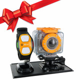 Camara Hp Action Cam Ac200w Wifi Full Hd Sumergible Regalo!