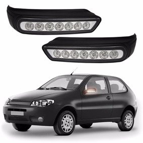 Aplique Led Retrovisor Palio G3 03 A 07 Siena Weekend #1065