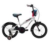 Bicicleta Bianchi Monster High Aro 16 Frankie Color Blanco