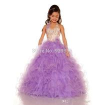 Vestidos Para Niña Elegante Pajecitos Princesas Presentacion