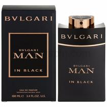 Perfume Bulgari Man In Black 100ml Edp - Original Lacrado