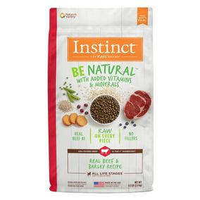Alimento Perro Instict Natural De Carne Y Cebada 11.3 K
