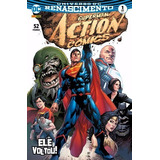 Action Comics Renascimento 1, 2, 3, 4, 5 Cada