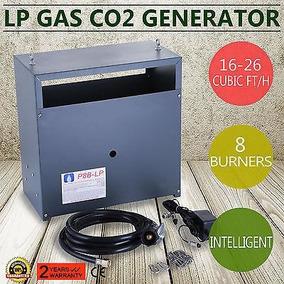 Nuevo Co2 Hidropónico Generador 8 Quemador Auto Piloto -4826