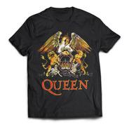 Camiseta Queen Escudo Color Rock Activity