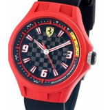 Reloj Ferrari Sf-0830006 Carcasa Acero Cristal Duro 50m Wr