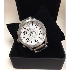 Relógio Nixon The51-30 Aço Original Com Caixa E Garantia
