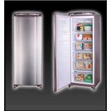 Freezer Vertical Whirlpool 260lts Inox 5 Canastos Wvu27x1