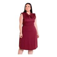 Kit Com 2 Vestidos Plus Size Moda Evangélica Midi Festa