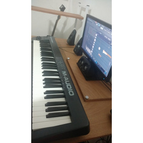 Controlador Midi M-audio Keystation 61 Mkii +cubierta Gratis