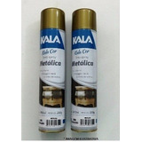 Tinta Spray Dourado Metalico Kala Kit 3