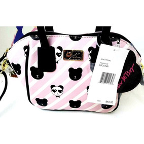 Cartera Betsey Johnson Luv Betsey Crossbody Striped Pandas