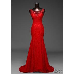 Vestido De Noiva Em Renda Estilo Sereia