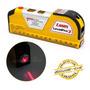 Nível Nivelador Laser Trena 2 Bolhas Horizontal Vertical