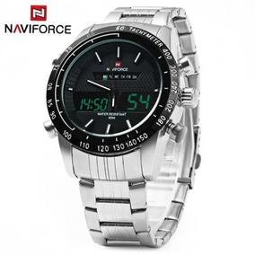 Relógio Militar Masculino Naviforce Esport Watch C/estojo