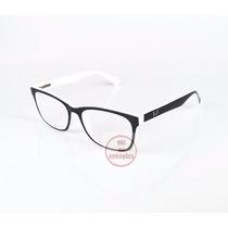 Armação Oculos Grau Rayban 5115 Boa Bonita E Barato